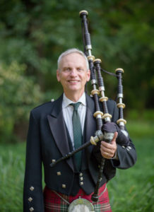 Rob Rogers plays Scottish Bagpipes for weddings, funerals and more